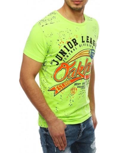 Pánské zelené tričko RX4072