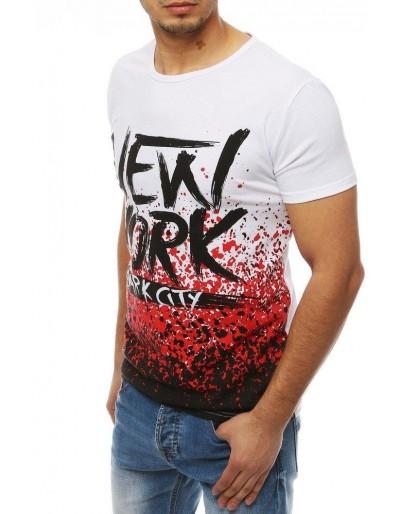 Pánské bílé tričko RX4074