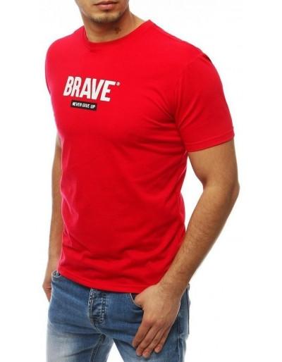 Pánské červené tričko RX4092