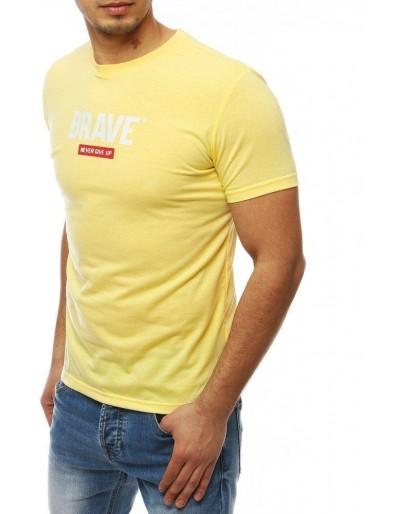 Žluté pánské tričko RX4093