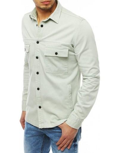 Pánská džínová košile černá DX1847