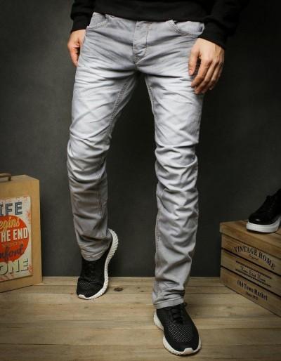 Šedé pánské džínové kalhoty UX2423