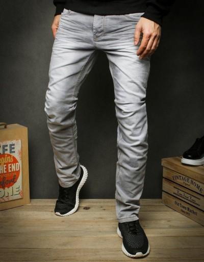 Pánské šedé džínové kalhoty UX2424