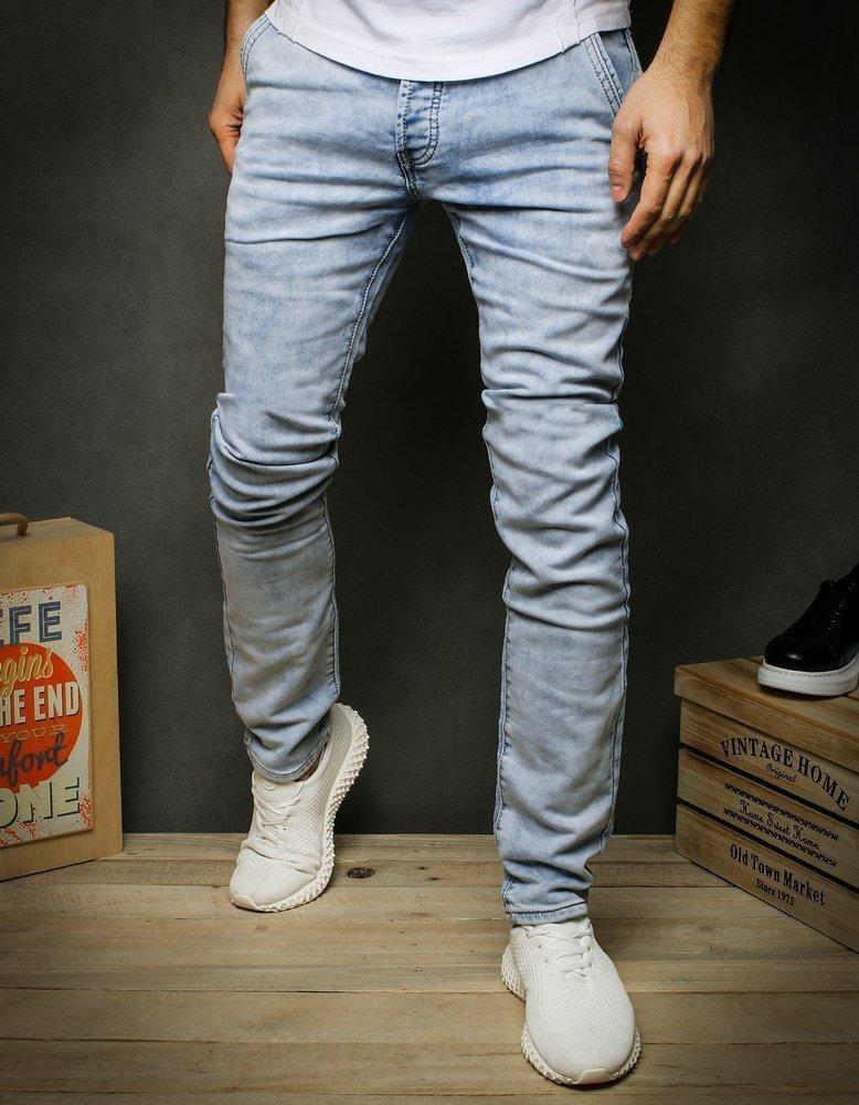 Pánské modré džínové kalhoty UX2426