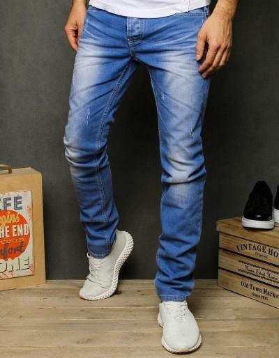 Pánské modré džínové džíny UX2429