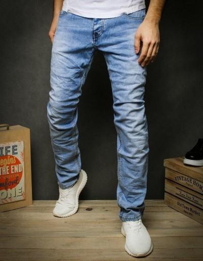 Pánské modré džínové kalhoty UX2431