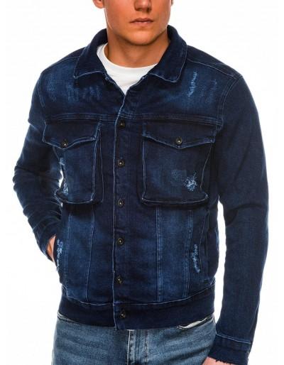 Men's mid-season jeans jacket C403 - jeans