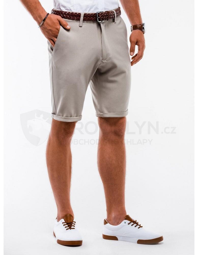 Pánské chino šortky W230 - béžové