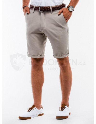 Men's chino shorts W230 - beige