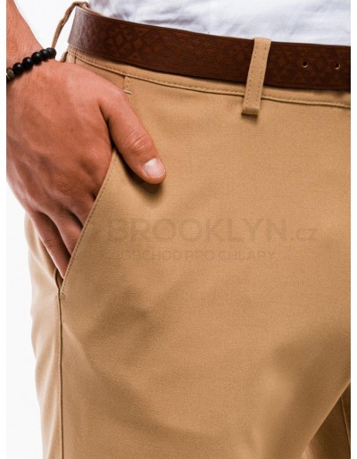 Men's chino shorts W230 - camel