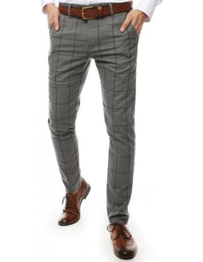 Tmavě šedé pánské kalhoty UX2449