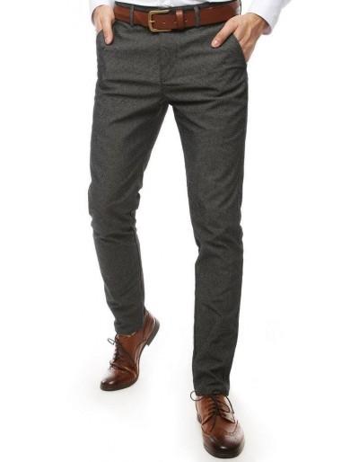 Tmavě šedé pánské kalhoty UX2452