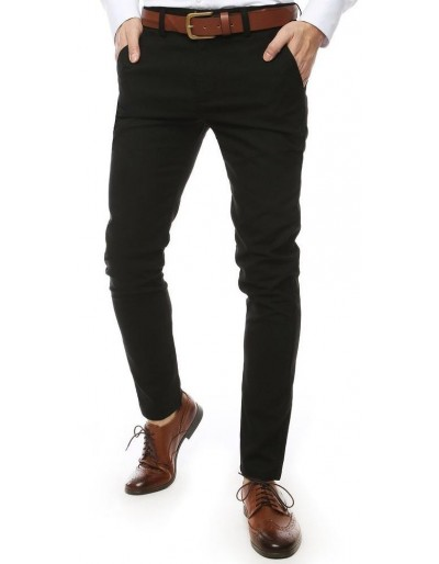 Černé pánské kalhoty UX2453