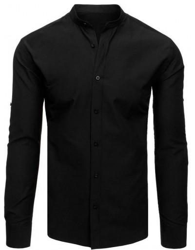 Elegantní černé pánské tričko DX1870