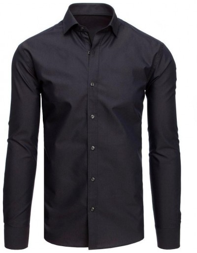 Grafitová pánská košile DX1874