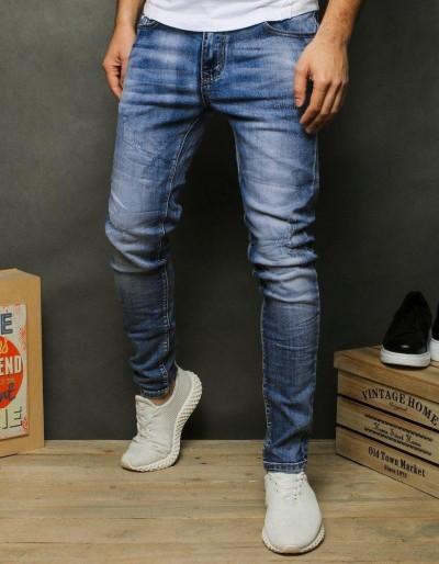 Pánské modré džínové džíny UX2474