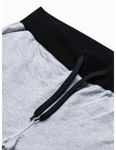 Men's sweatshorts P29 - grey/black