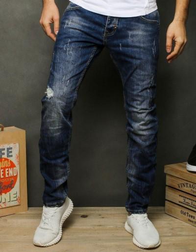 Pánské modré džínové kalhoty UX2476