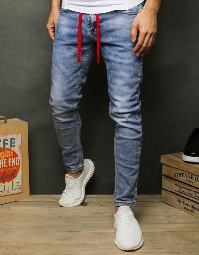 Pánské modré džínové kalhoty UX2477