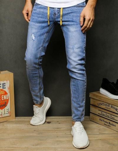 Pánské modré džínové kalhoty UX2478