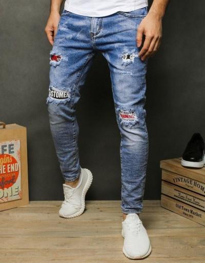 Pánské modré džínové džíny UX2480