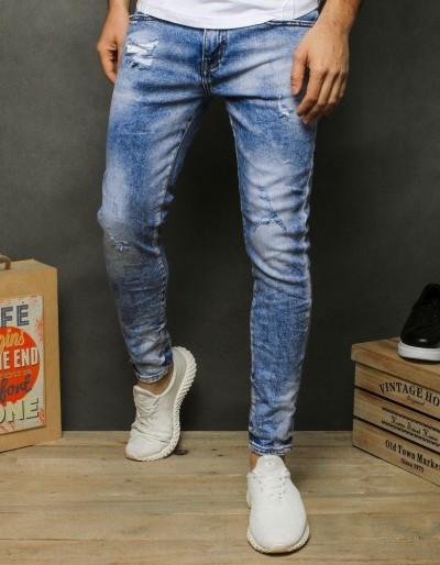 Pánské modré džínové kalhoty UX2482