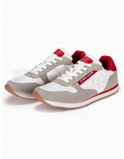 Men's casual sneakers T310 - beige