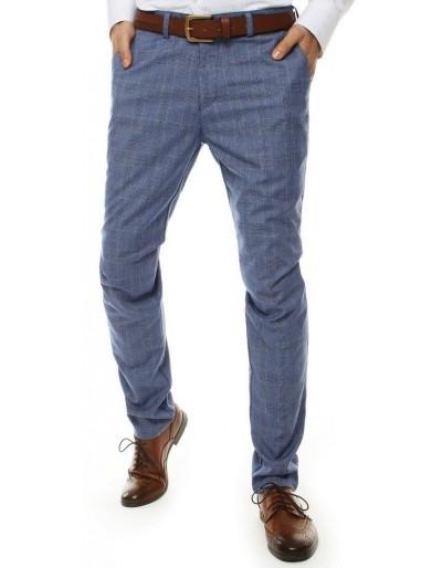Tmavě modré pánské kalhoty UX2512