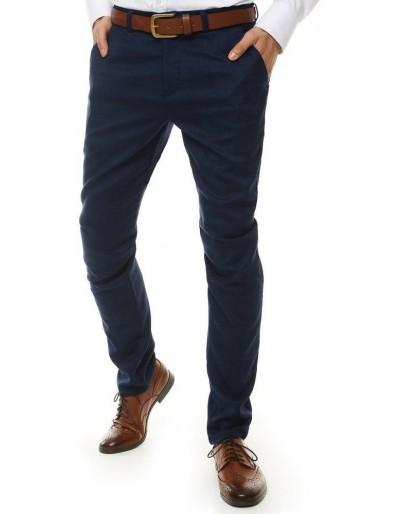 Tmavě modré pánské kalhoty UX2513