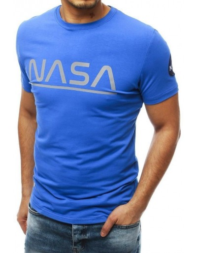 Pánské riflové tričko s potiskem NASA RX4112