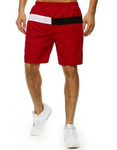Pánské plavecké šortky SX2010 hnědé