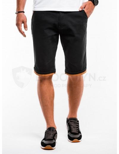 Pánské chino šortky W150 - černé