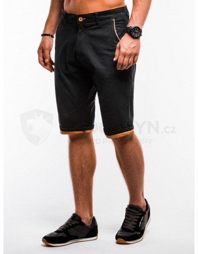 Men's chino shorts W150 - black