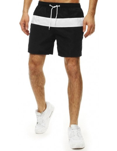 Pánské černé plavecké šortky SX2018
