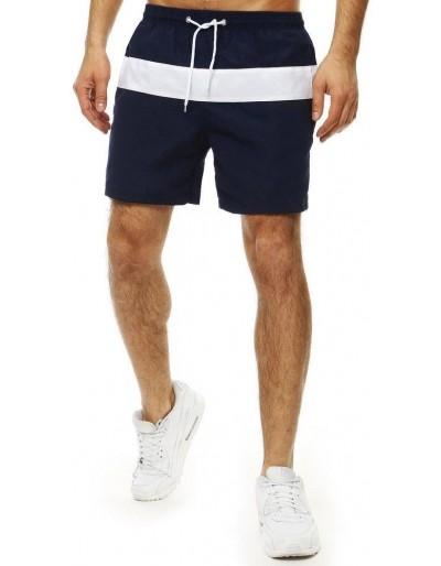 Pánské plavecké šortky, tmavě modré SX2019