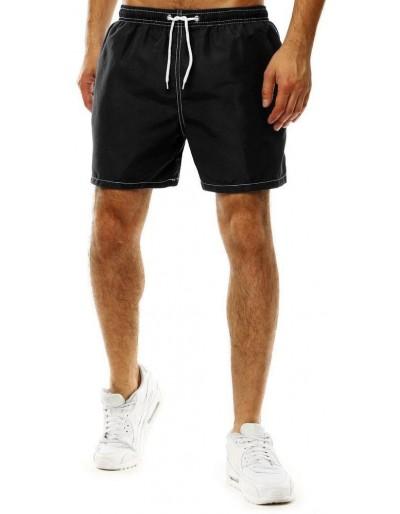 Pánské černé plavecké šortky SX2024