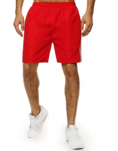 Pánské plavecké šortky červené SX2033