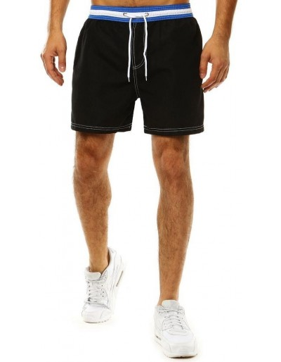 Pánské černé plavecké šortky SX2042