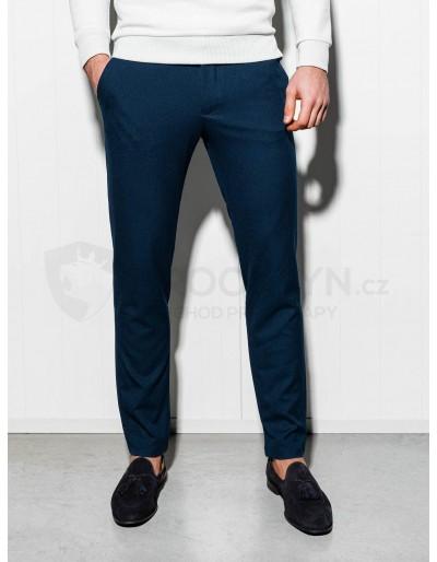 Pánské kalhoty chinos P832 - navy