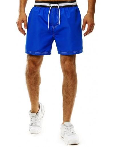 Pánské chrpy modré koupací šortky SX2044