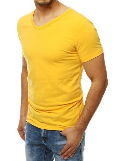 Žluté pánské tričko RX4115