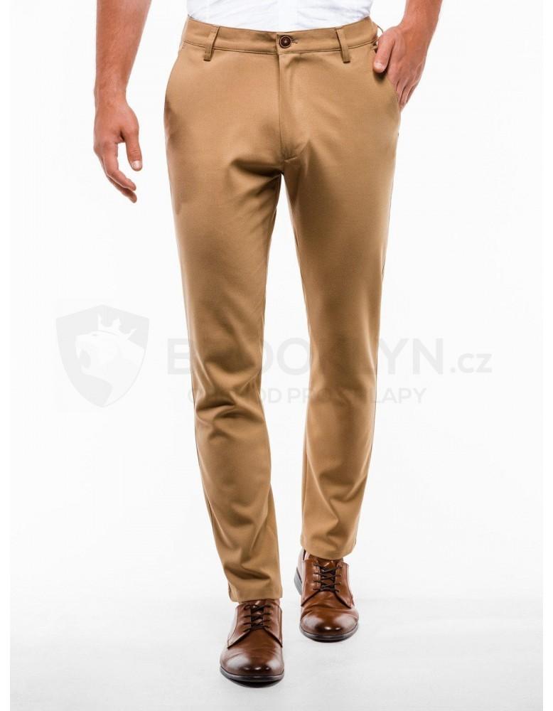 Pánské kalhoty chinos P832 - velbloud