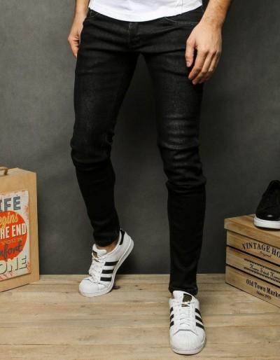 Pánské černé džínové kalhoty UX2522