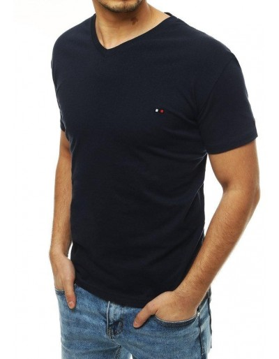 Pánské tmavě modré tričko RX4124