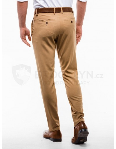 Men's pants chinos P832 - camel