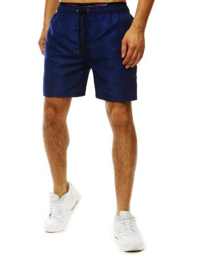 Pánské tmavě modré plavecké šortky SX2054
