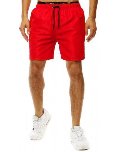 Červené pánské plavecké šortky SX2055