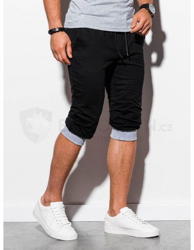 Men's sweatshorts P29 - black/grey