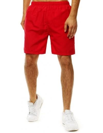 Červené pánské plavecké šortky SX2057
