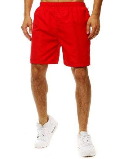 Červené pánské plavecké šortky SX2077